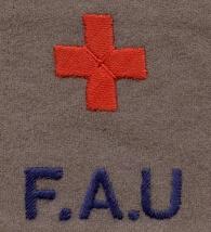 Friends Ambulance Unit armlet (Lib. Ref. TEMP MSS 999)