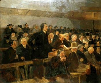 Samuel Lucas (1805-1870) London Yearly Meeting (ca. 1840). (Lib. Ref. PIC/F035)