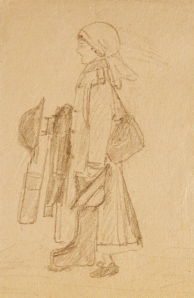 """Going on duty"", c. 1918 (Lib. Ref. TEMP MSS 1000)"