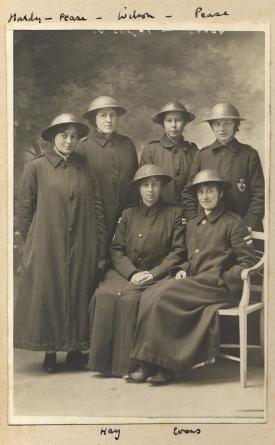 Nurses at Queen Alexandra Hospital (TEMP MSS 1000)