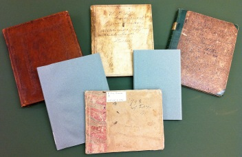 Selection of Elizabeth Fry diaries.