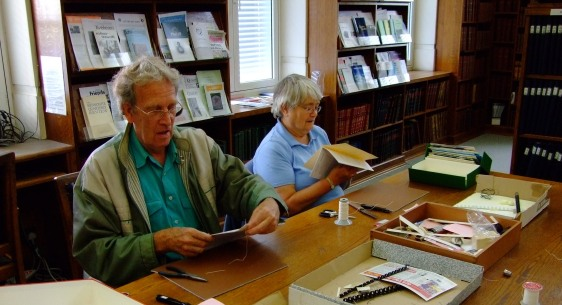 NADFAS volunteers at work