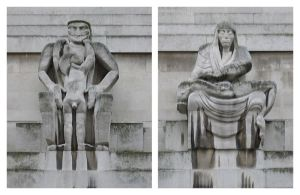 Jacob Epstein Day and Night