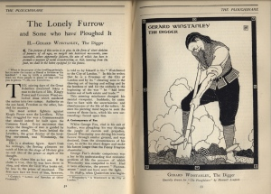 Gerard Winstanley, the Digger, March 1916