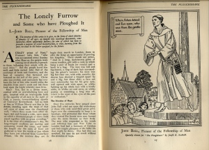 John Ball, Pioneer of the Fellowship of Men, February 1916