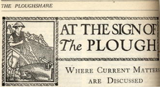 At the sign of the Plough