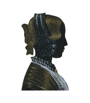 Silhouette of Mary Neave