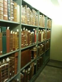 Strongroom 1 folio books