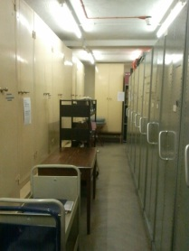 Strongroom 1 trolleys