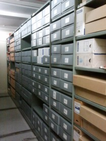 Strongroom 2 archive boxes