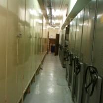 Strongroom corridor east