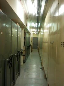 Strongroom corridor west