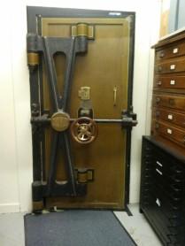 Strongroom door