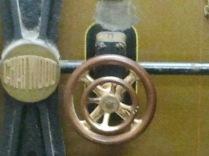 Strongroom door mechanism