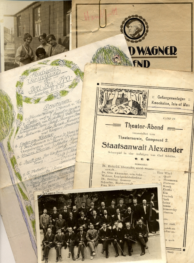 Prisoners of war camp performances, 1915-1919 (TEMP MSS 1003/2/1-2)