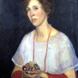 Painting of Dorothy Henkel