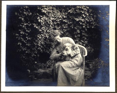 Photograph of Dorothy Henkel (TEMP MSS 1003/1/1/8)