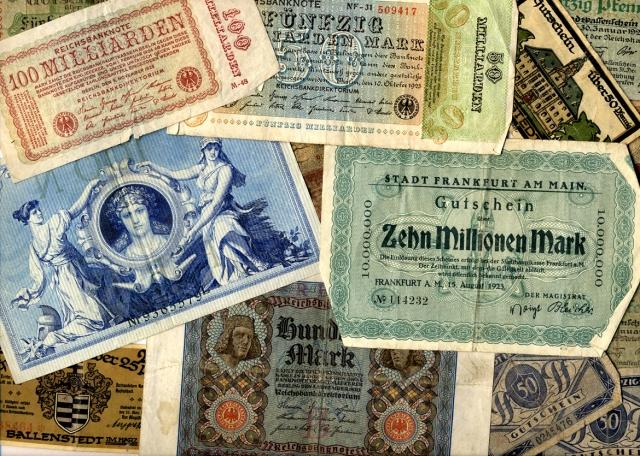 Deutschmarks, 1922-1923 (TEMP MSS 1003/7)