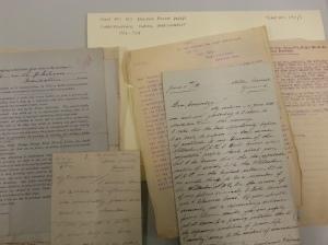 Rowland Philcox correspondence