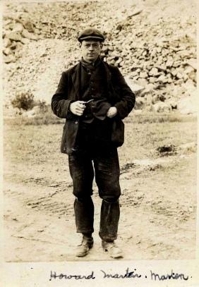 Howard C. Marten at Dyce Camp