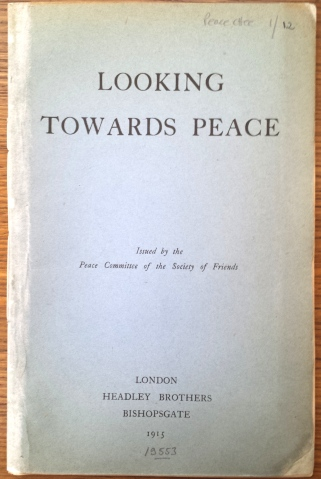 Looking towards peace