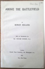 Rolland, Above the battlefield