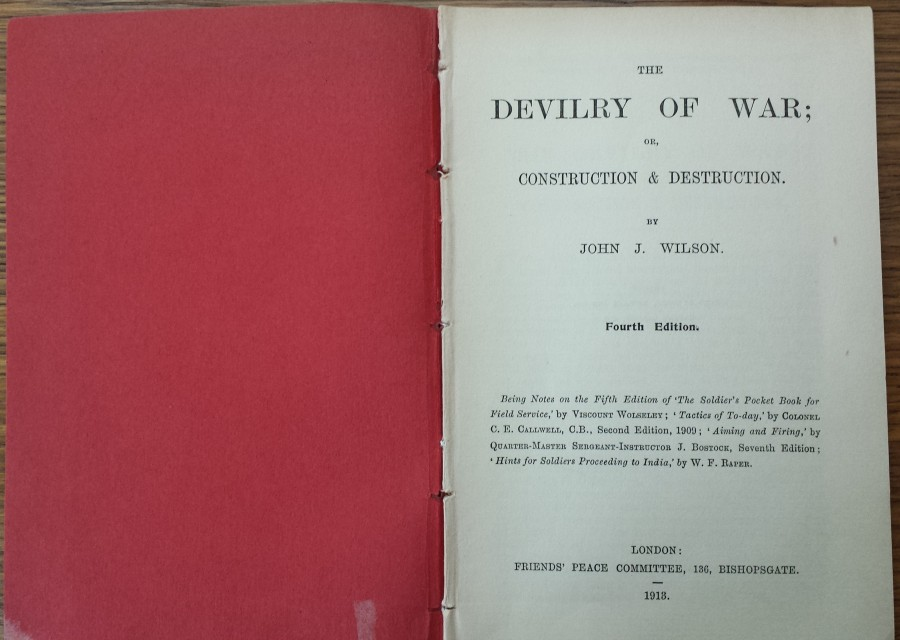 The devilry of war