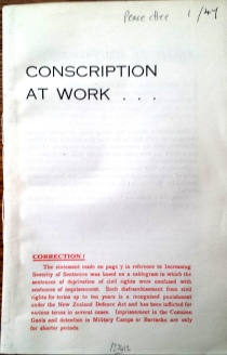 Conscription at work