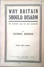 Benson, Why Britain should disarm