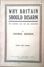 Benson, Why Britain should disarm