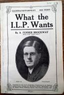 Brockway, What the ILP wants