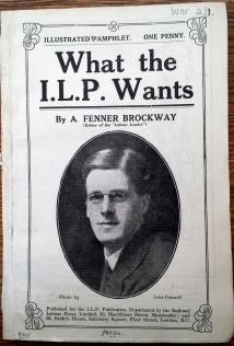 Brockway, What the ILP wants