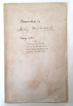 "Philip Millwood ""War tracts"" volume inscription"