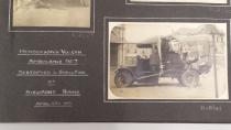 Shell-damaged ambulance, Nieuport, 1917