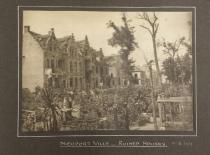 Nieuport - ruined houses