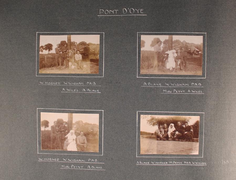 Pont-d'Oye portraits