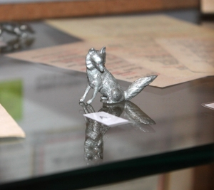 Metal fox made by POWs at Knockaloe