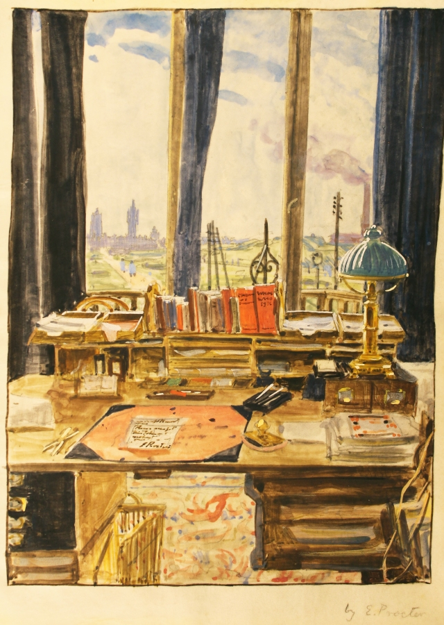 Ernest Procter's room, France