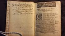 MS inscription by Hawkins to Hammersmith Meeting, 1725 (Hawkins Vol. 22)