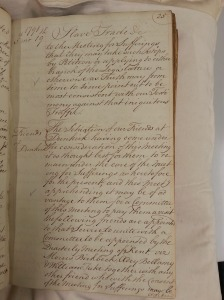 London Yearly Meeting minutes, 1791
