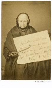Anne Knight, photograph by Victor Franck, c.1855 (LSF MS BOX W2)