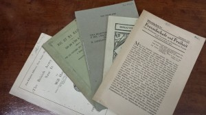 Conserved pamphlets