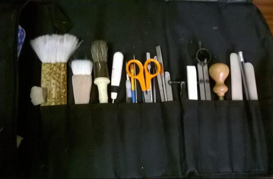 Beth's tool roll