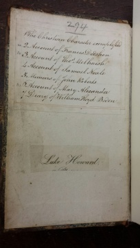 Tract volume 294: Luke Howard's book