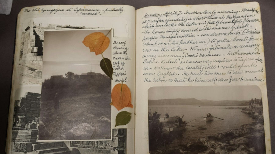 Elizabeth Braithwaite Emmott, Palestine and Syria travel diary, 1930 (Library reference: Temp MSS 109/34)