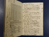 Diary of Elizabeth Robson 1829-1830 (Library reference: MS Vol S 137)
