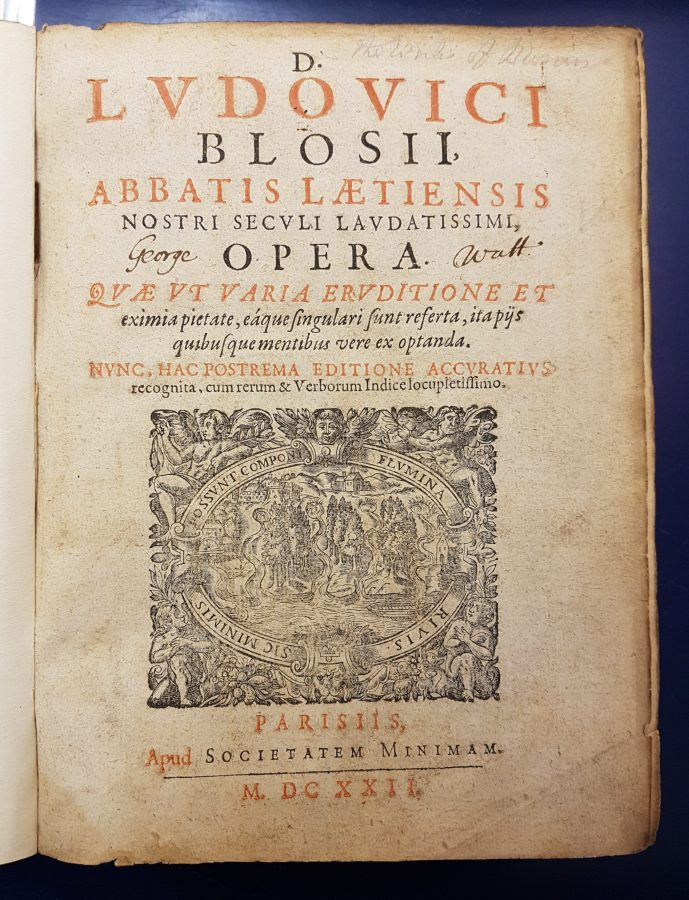 Works of Louis de Blois