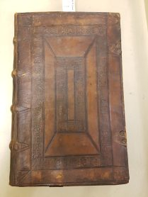 Leather binding, Richardson Collection 26