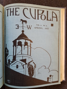 Cupola Vol. 4, no. 4 (Spring 1932)