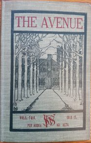 Saffron Walden Friends School, The Avenue, vols. 7-8 (1916-17)